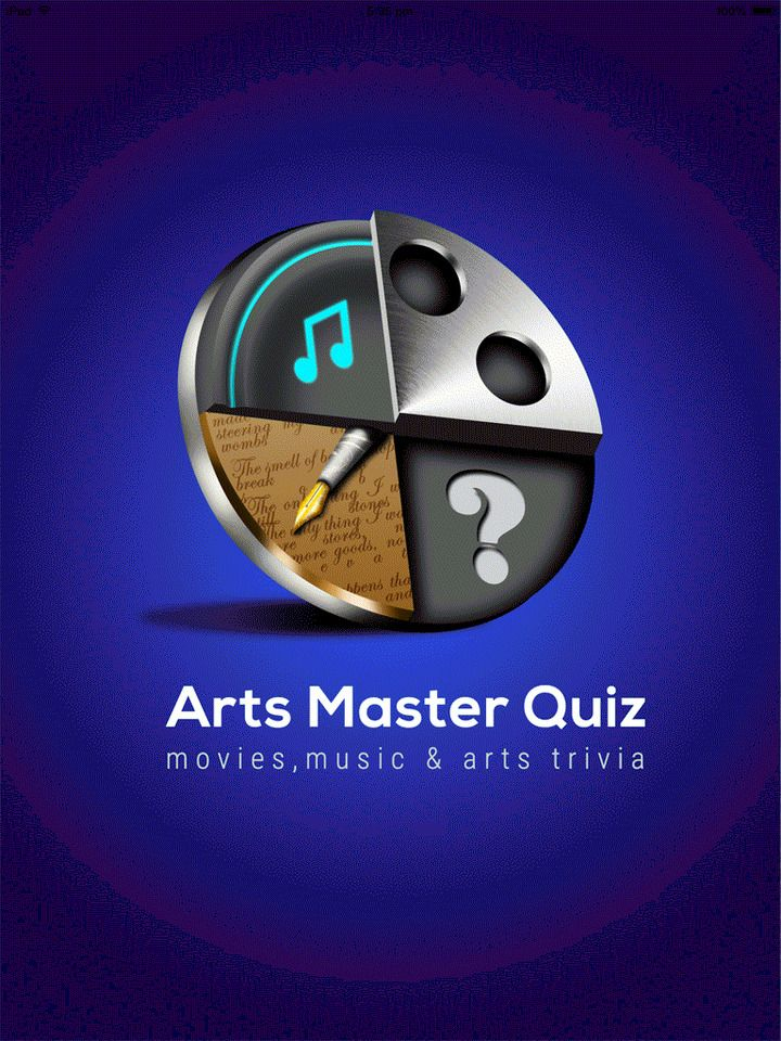 Arts Master Quiz tests general knowledge of literature, art, film and music and the other performing arts.