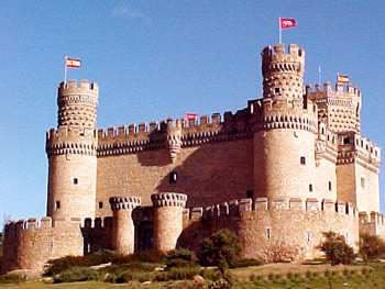 un castell de la edat mitjana