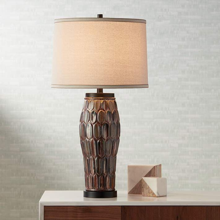 Possini Euro Joslyn Ceramic Table Lamp   #9J576 | Lamps Plus
