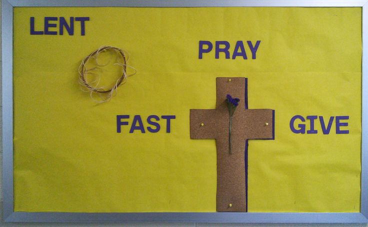 Lent Bulletin Boards | Lenten bulletin board