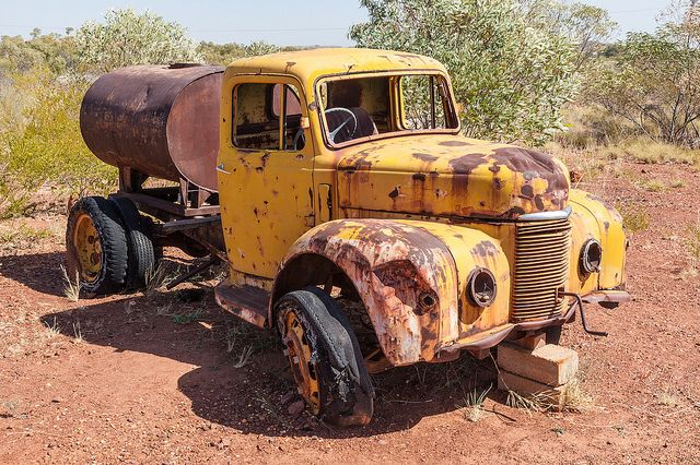 Old Fuel Truck |