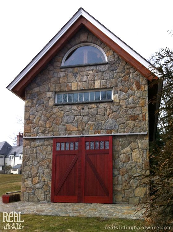 37 best images about barn door on pinterest sliding for Exterior barn doors for homes