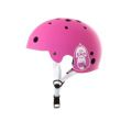 Casco King Kong New Fit color rosa mate