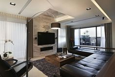 Cool modern interior//