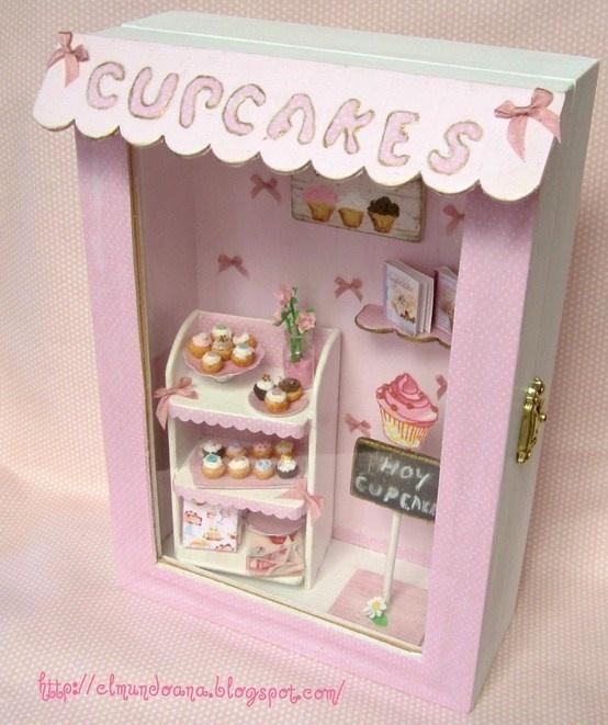 El Minimanie Ventanas: 17 Best Images About Miniature Room Boxes On Pinterest
