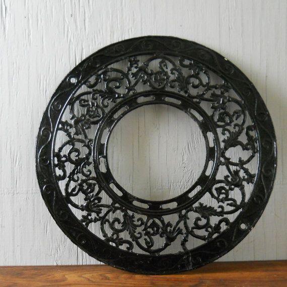 Antique Decorative Cast Iron Stove Pipe Grate - 110 Best Cast Iron & Ceramic Stoves & Acces. Images On Pinterest