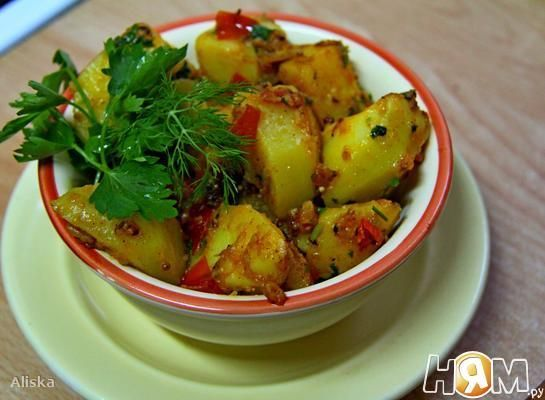 Картофель по-Бомбейски