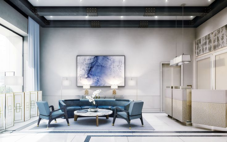 David Collins | The Charles Condo Private Residences | Private Residential Interiors