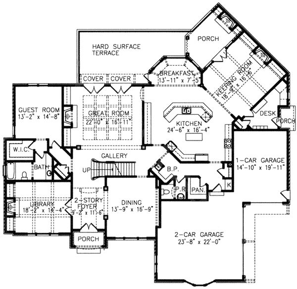 Hearth Room Off Kitchen: 128 Best House Plans Images On Pinterest