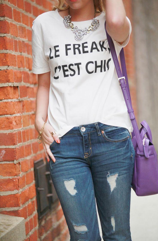 "Fashionably Kay: ""Le Freak, C'est Chic"""