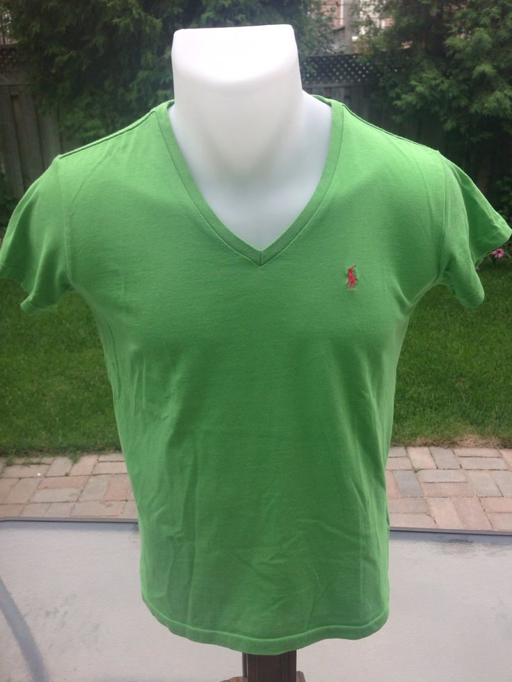 New to MajorDivision on Etsy: Vintage Womens Green Ralph Lauren Sport T-Shirt (15.00 CAD)