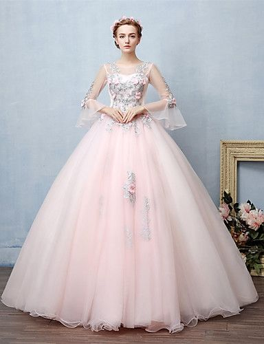 Fluffy Prom Dresses with Straps