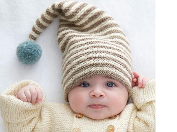 Tricot : bonnet de lutin