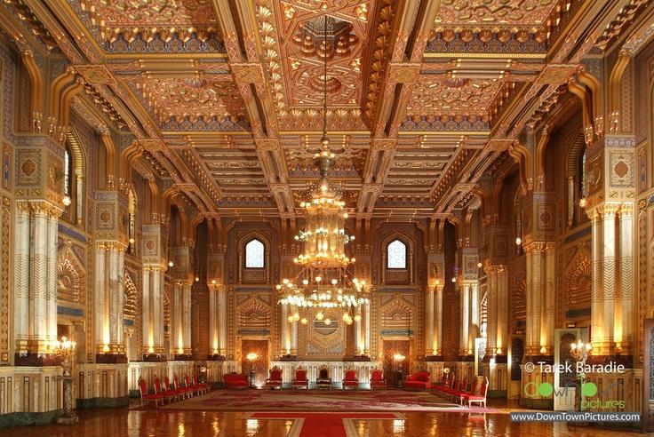Abdeen Palace throne room - Egypt   Urban Spaces ...  Abdeen Palace t...