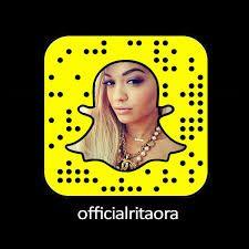 Rita Ora Snapchat Name - What is Her Snapchat Username & Snapcode?  #RitaOra #snapchat http://gazettereview.com/2017/08/rita-ora-snapchat-name-snapchat-username-snapcode/