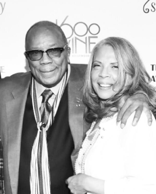 Quincy Jones & Patty Austin(his god-daughter)