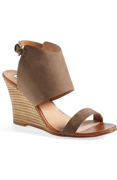 Halogen® 'Clarette' Wedge Sandal (Women) available at #Nordstrom