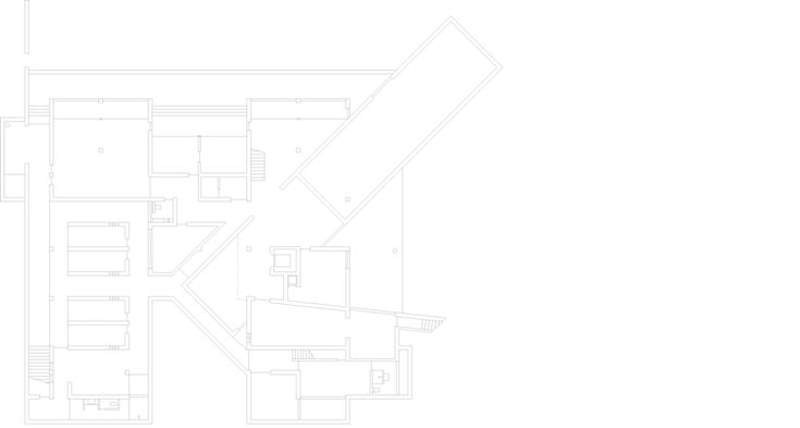 House in Sri Lanka by Tadao Ando - plan