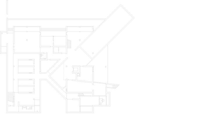 House in Sri Lanka by Tadao Ando - plan