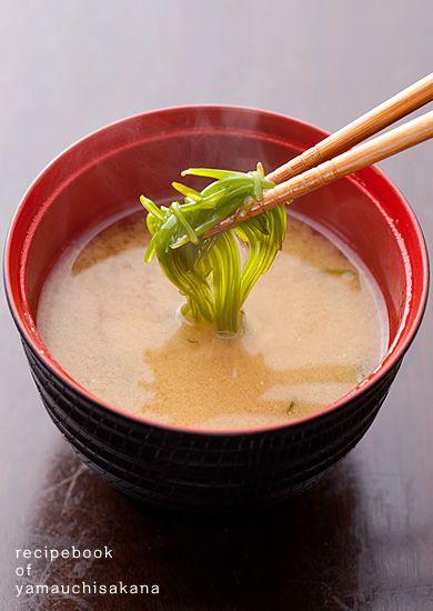 めかぶのレシピが知りたい! | 魚介類の通販 山内鮮魚店 生めかぶのお味噌汁 ...