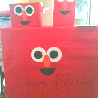 Best 12 Elmo First Birthday DIY Ideas On Pinterest