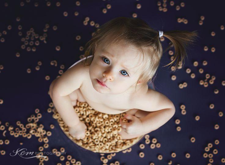 Children photography   KCM Photography #cheerios #firstbirthday #1stbirthday #camphumphreysphotographer #korea #blueeyes #sittinginbowlofcheerios #childrenphotography #kcmphotography