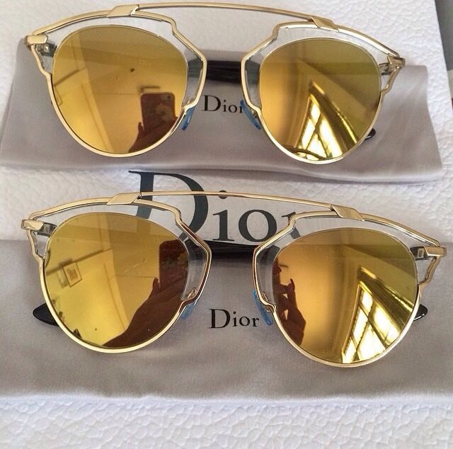 "Dior ""So Real"" Sunglasses-OBSESSED!!! Must see how these would look on me!"