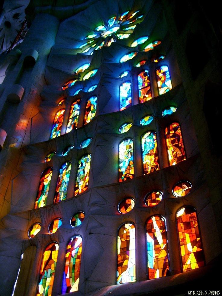 La Sagrada Familia de Gaudí, Barcelona Spain