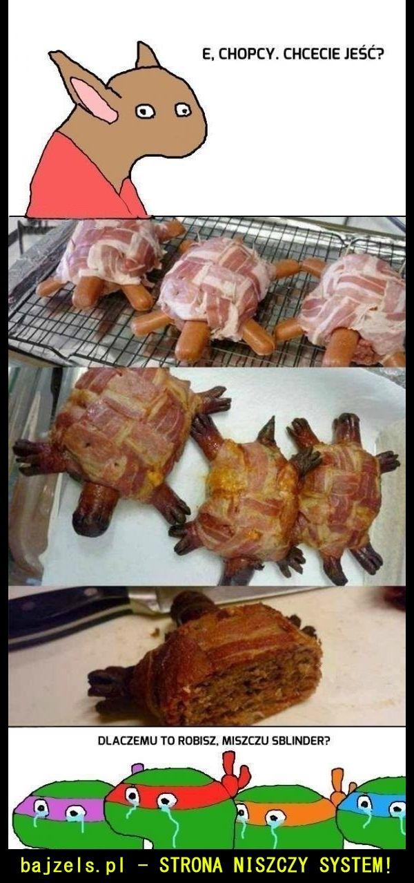Żółwie Ninja heheszky