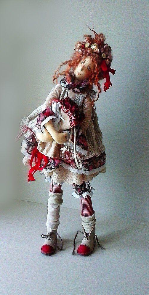 куклы из ткани ♡ lovely doll                                                                                                                                                     More