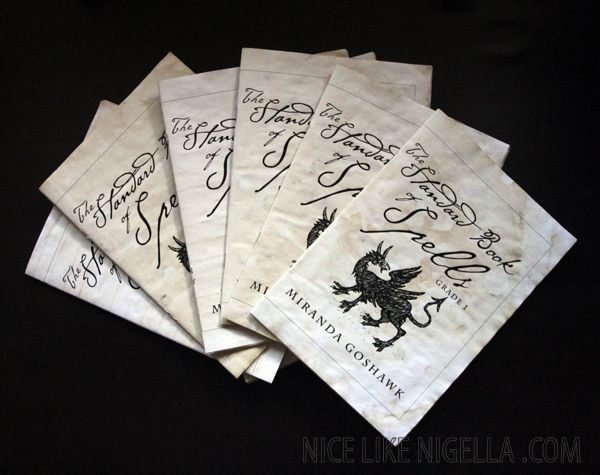 The Standard Book of Spells: (Printable) Harry Potter #halloween #craft