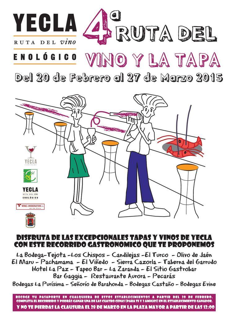 Ruta del Vino de Yecla en Yecla, Murcia