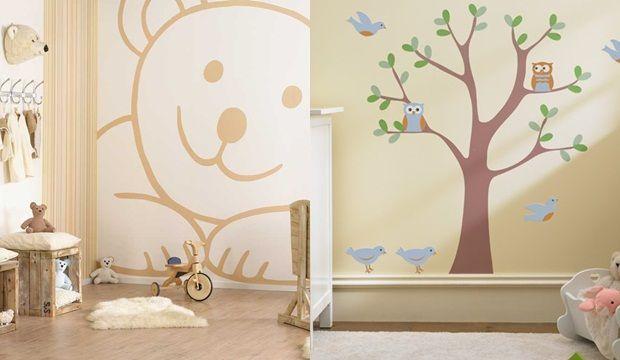 Vidám dekorációk a gyerekszoba falára   Femcafe