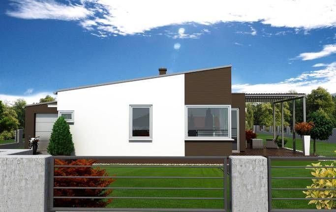 Návrh rodinného domu Simple od APEX ARCH s.r.o.