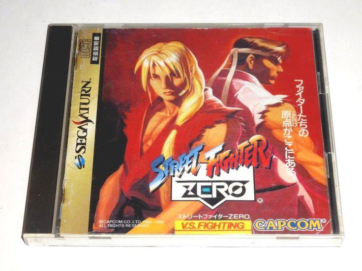#sega saturn - street fighter zero - japan jp from $0.99