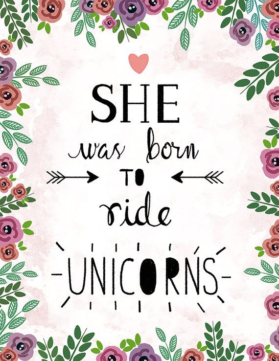 She was Born to ride  Art Print by beautifique on Etsy