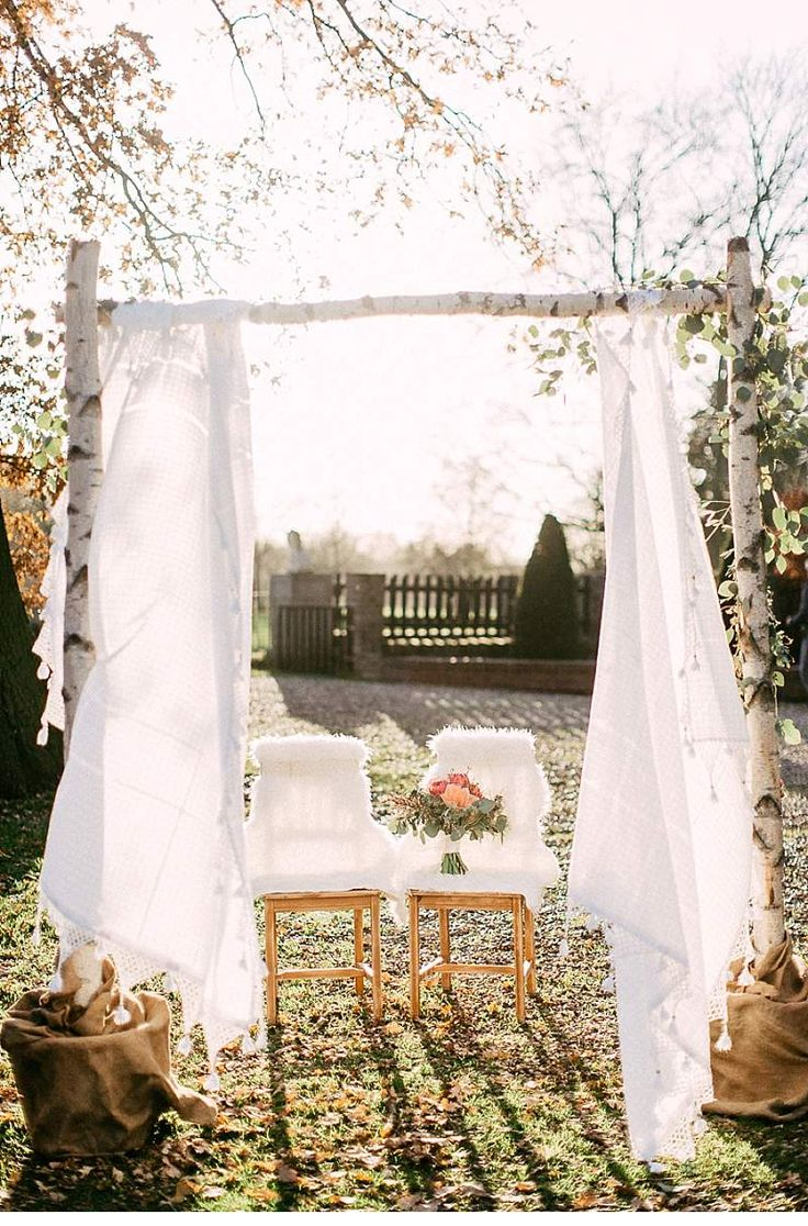 A Bohemian wedding inspiration that combines rustic romance with grand elegance and pure love in the middle.