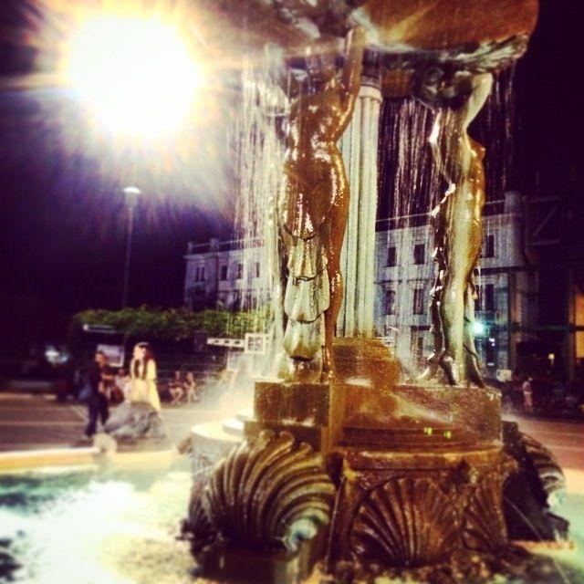 Una delle splendide fontane di Cattolica - One of the wonderful Cattolica's fountains | MyTurismoER: Rimini attraverso lo sguardo fotografico di @reetacelli