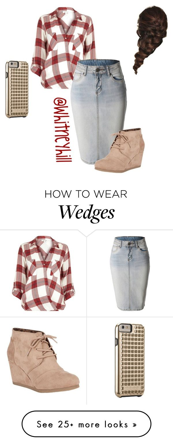 """Casual Day Out!!"" by whitneyhill on Polyvore featuring River Island, LE3NO…"