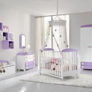 camere bambini baby B104 Viola Lineare