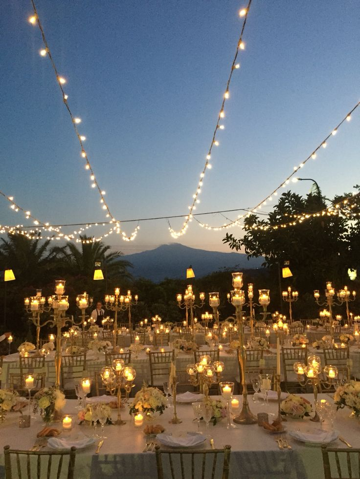 Enchanted atmosphere for Mariapia & Salvo's wedding at Tout Va!