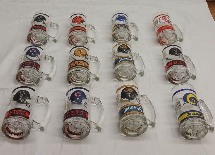 12 collectible NFL Beer Mugs. | eBay!