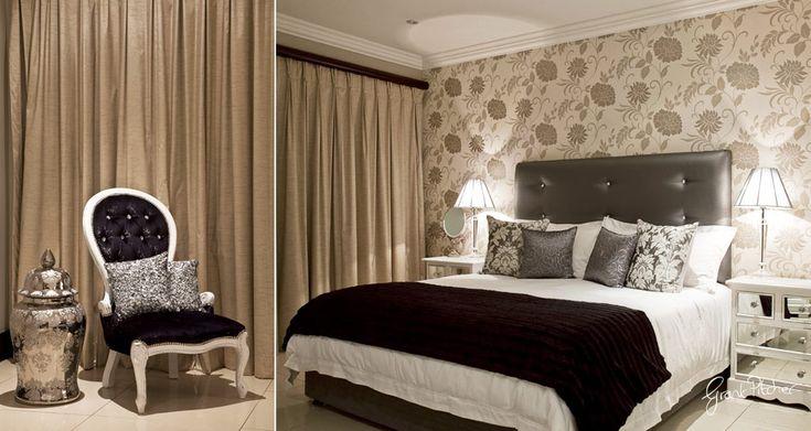 Wallpaper feature wall bedroom ideas pinterest grey for Grey feature wallpaper bedroom