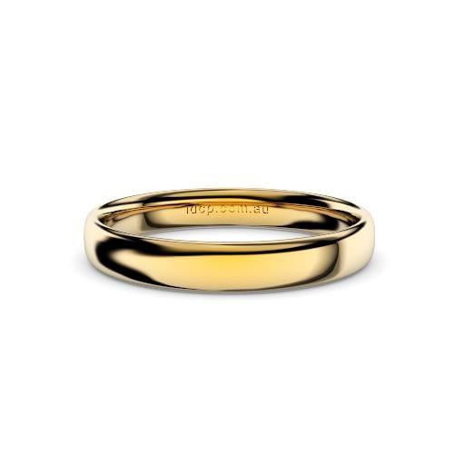 Women's Classic Yellow Gold Wedding Ring – 3mm