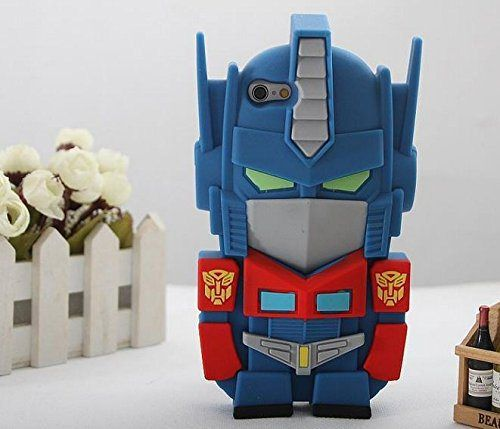 Cartoon Protective Skin Transformers Extinction Optimus Prime Autobots Leader Super Hero United Silicone Rubber Protection Cover Soft Cases for iPhone 6