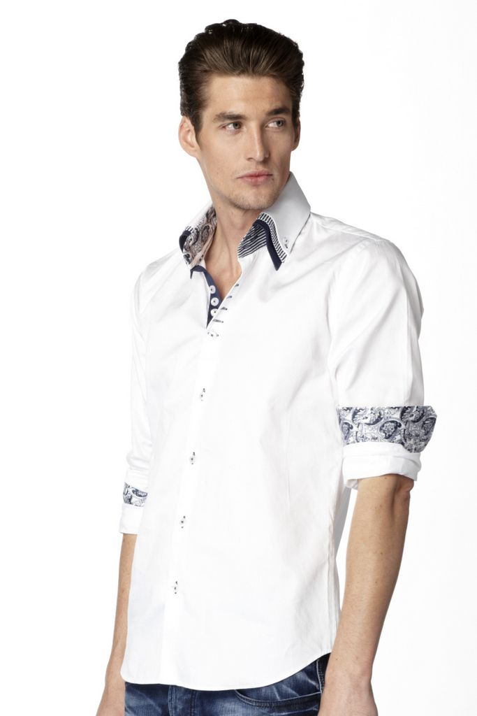 You always need to have a white Max Martini #Shirt with you.