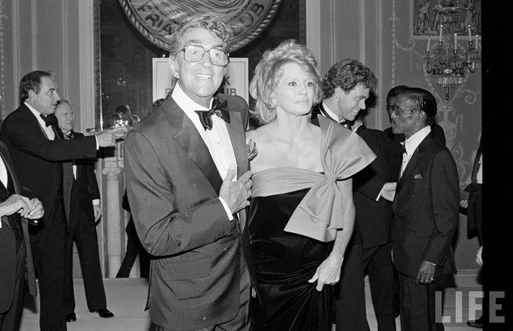 Dean Martin, Angie Dickinson, Joe Piscopo, Sammy Davis Jr., september 1984