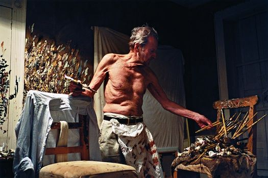 Lucien Freud, 82