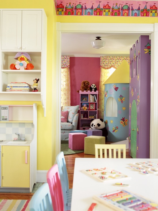 Kids Bedroom And Playroom 146 best children's rooms images on pinterest | children, room and