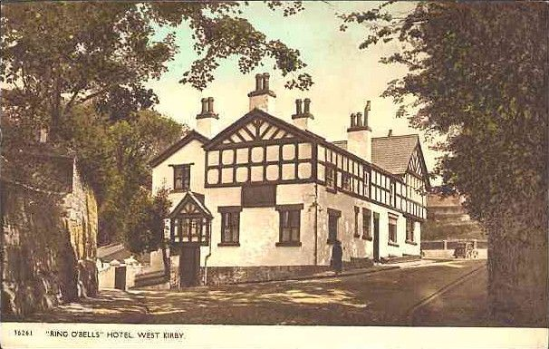 Ring O' Bells, West Kirby,The pub was rebuilt in 1810
